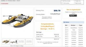 bigdaddybid pontoon shill auction